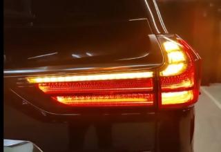 Динамический поворот Lexus LX